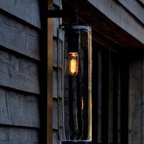 Royal Botania Dome wall wandlamp buitenlamp zwart TuinExtra buitenverlichting
