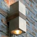 QBW2D220 EP q-bic wandlamp up-downlight rvs teak royal botania spot