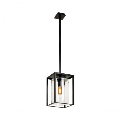 Dome ceiling long zwart plafondlamp Royal Botania