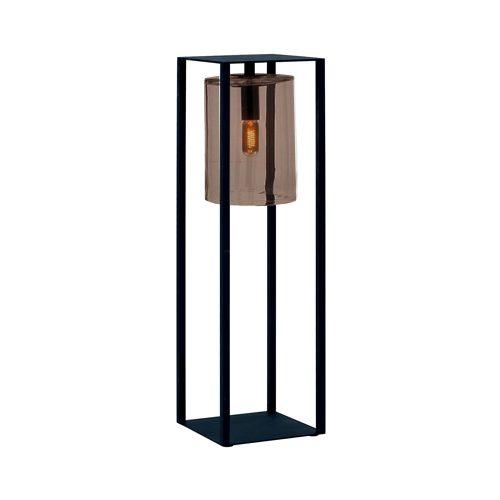 Dome move amber glas zwart Royal Botania terraslamp TuinExtra