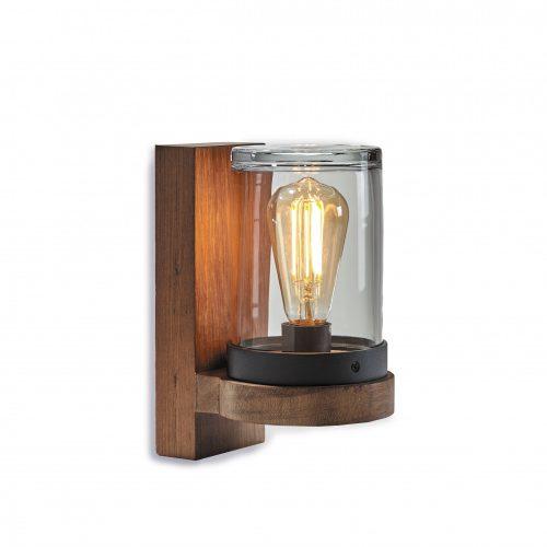 Cloche royal botania wandlamp teak hardhout buitenlamp CLOW