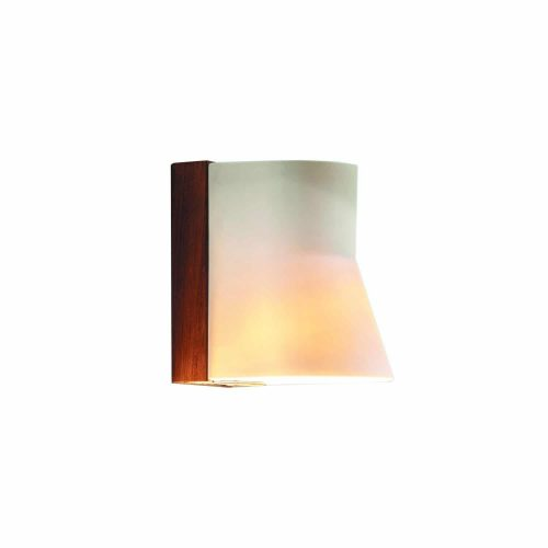 Beacon wall buitenlamp wandlamp royal botania teak porselein